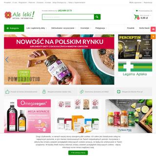 ArchiveBay.com - aleleki.pl - Apteka Internetowa AleLeki.pl – Leki bez Recepty, Apteka Online