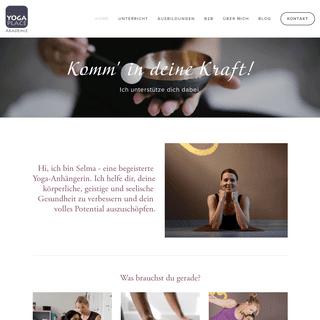 Selma Brenner - Yoga Place Akademie