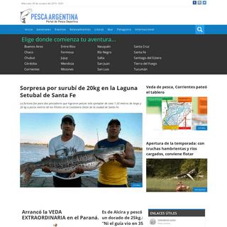 ArchiveBay.com - pescaargentina.com.ar - Pesca en Argentina - Todo sobre Pesca Deportiva