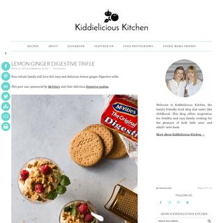 Kiddielicious Kitchen - Family friendly food blog