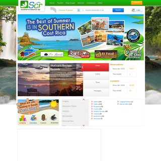 ArchiveBay.com - southerncostarica.biz - Southern Costa Rica Information, explore all touristic & commercial options.