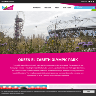 ArchiveBay.com - queenelizabetholympicpark.co.uk - Home - Queen Elizabeth Olympic Park