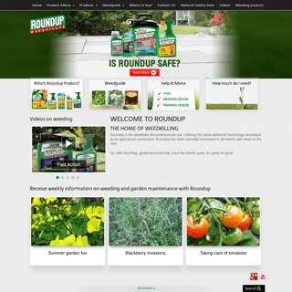 ArchiveBay.com - roundup.com.au - The Worlds Best Selling Herbicide - Roundup Weedkiller