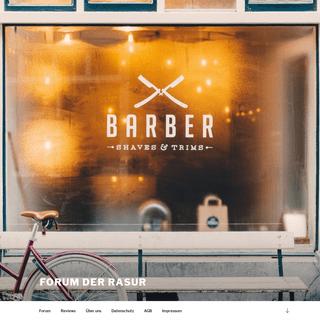 Alles über Nassrasur - Forum der Rasur