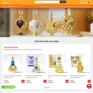 Tinh dầu nước hoa Dubai, Order hàng mỹ xách tay - HT Market