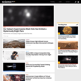 ScienceAlert- The Best in Science News and Amazing Breakthroughs
