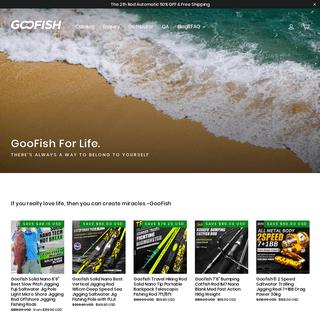 Goofish Fishing World – Goofish® Solid Nano Tech Rods