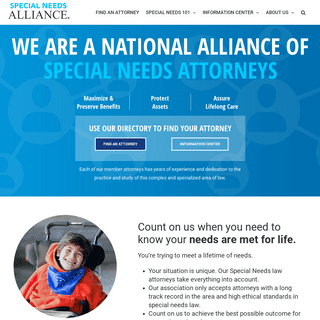 Home - Special Needs Alliance