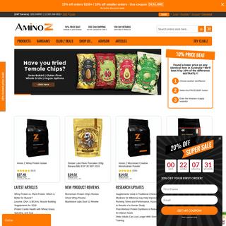 Bodybuilding, Fitness & Health Supplements & Vitamins Online - Amino Z
