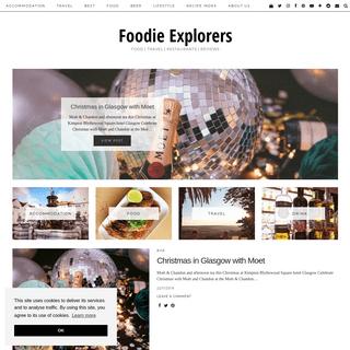 Foodie Explorers - Food - Travel - Restaurants - Reviews