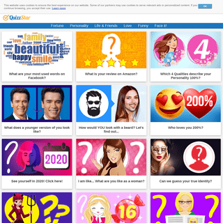 A complete backup of quizzstar.com