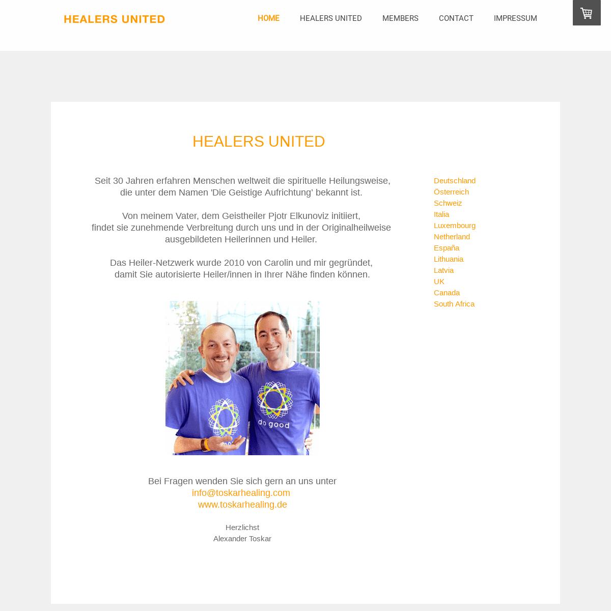 ArchiveBay.com - healers-united.net - HOME - Healers-United