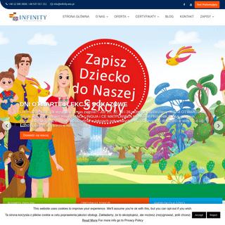 INFINITY - Kurs Hiszpańskiego, Niemieckiego, Angielskiego - Angielski dla dorosłych, początkujących - dla firm - Kraków