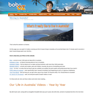 ArchiveBay.com - bobinoz.com - Moving to Australia- Living in Australia – All About Emmigrating.