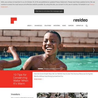 Home - Resideo