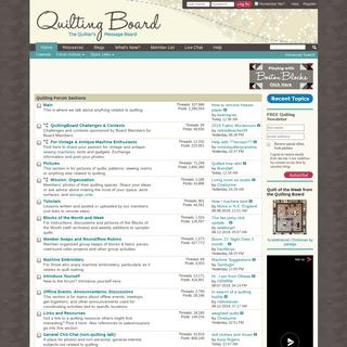ArchiveBay.com - quiltingboard.com - Quilting Board