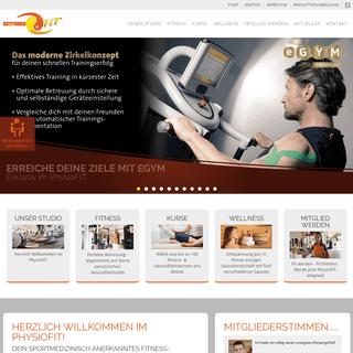 Fitness, Kurse, Physio & Wellness in Peine- PhysioFIT Fitnessstudio & Gesundheitszentrum
