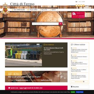 Città di Fermo - portale istituzionale del Comune di Fermo