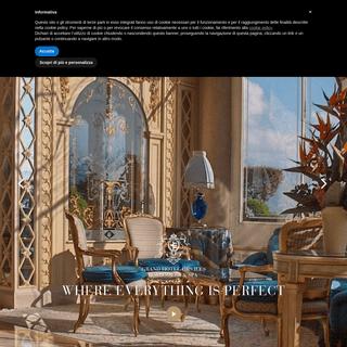 ArchiveBay.com - borromees.com - Grand Hotel Des Iles Borromées - Sito ufficiale
