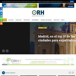 Inicio - ORH - Observatorio de Recursos Humanos