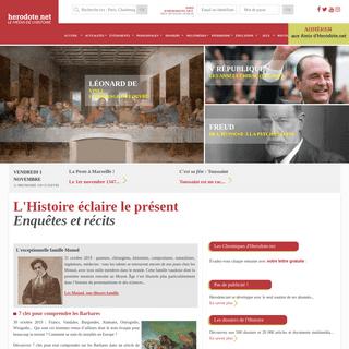 L'Histoire éclaire le présent - Enquêtes et récits - Herodote.net