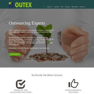 Outex - Home