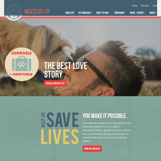 Nuzzles & Co – Pet Rescue and Adoption