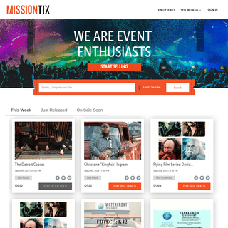 Sell Event Tickets Online - Buy Event Tickets Online at MissionTix