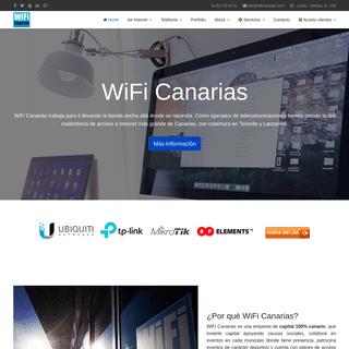 Home - WiFi Canarias