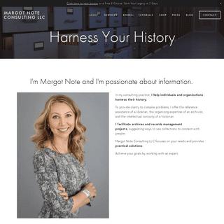ArchiveBay.com - margotnote.com - Margot Note Consulting LLC