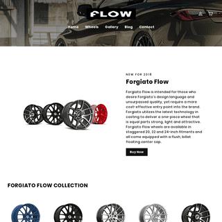 Forgiato Flow Wheels – ForgiatoFlow