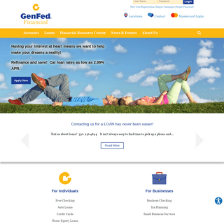 Home - GenFed Financial