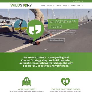 Storytelling and Digital Strategy Agency - Marketing - Branding - Public Relations - WILDSTORY