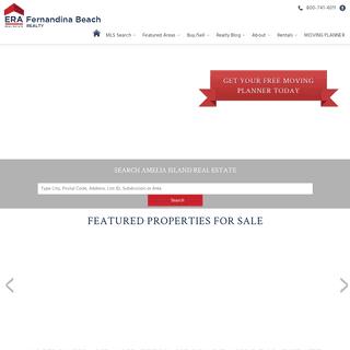 ERA Fernandina Beach Realty - Homes and Properties for Sale