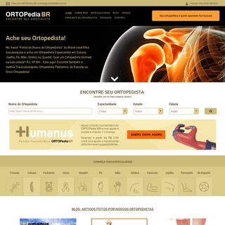 ArchiveBay.com - ortopediabr.com.br - Ache seu Ortopedista Especialista em Coluna, Joelho, Pé - Ortopedista Unimed RJ, SP, BH