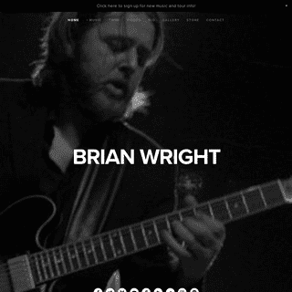 OFFICIAL BRIAN WRIGHT WEBSITE