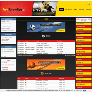 ArchiveBay.com - freesoccertips.top - Free Soccer Tips - Basketball tips, Tennis tips, Soccer tips
