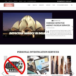 ArchiveBay.com - forensicdetectives.in - Detective Agency in Delhi - Best Detectives in Delhi - 099580 45226