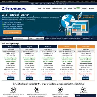 ArchiveBay.com - easyhost.pk - EasyHost- Web Hosting Pakistan, .PK Domain Registration, Website Hosting Company