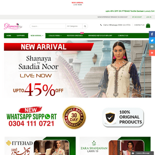 Glamour Hub - NOW EXPERIENCE 'BRANDS' ON DISCOUNT