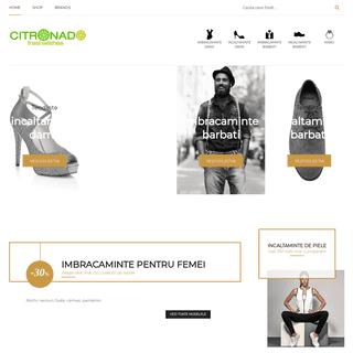Citronado - Imbracaminte - Incaltaminte - Branduri - Fashion