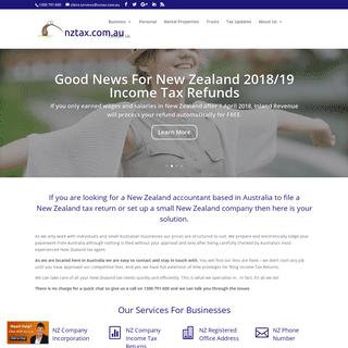 NZ Tax Returns - NZ tax agent in Australia - NZTax.com.au