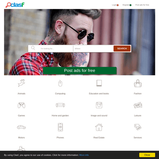 Free Classified ads - buy and sell cheap items in Pakistan - CLASF