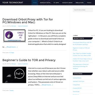 Your Technocrat - Get The Latest Tweaks On Gadgets & Technology