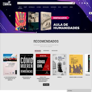 Universilibros - Librería Virtual - Libros Universitarios