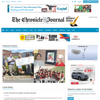 chroniclejournal.com - The Newspaper of the Northwest