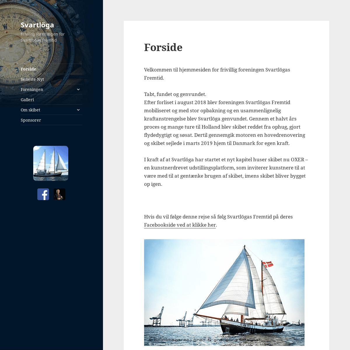 Svartlöga – Frivillig foreningen for Svartlögas fremtid