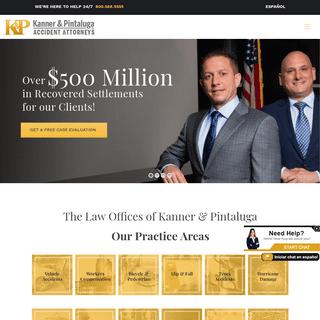 Kanner & Pintaluga - Personal Injury Law Firm - Hurricane Claims