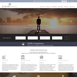 Jobs in Cyprus - Recruitment Agency Cyprus - CareerFinders
