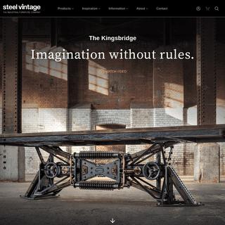 ArchiveBay.com - steelvintage.com - Steel Vintage - Industrial Furniture - Handmade In The UK